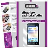 dipos I 2X Schutzfolie klar passend für Huawei Ascend Y330 Folie Displayschutzfolie