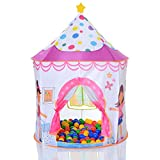 LCP KIDS Pop Up Spielzelt Prinzessin als Kinder Spielhaus und