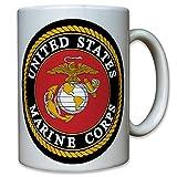 USMC United States Marine Corps USA US Army Militär Wappen Abzeichen Emblem - Tasse Becher Kaffee #8110