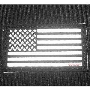 Multicam Infrared IR USA American Drapeau 3.5x2 Laser Cut Reflective IFF Tactical Morale Fastener Écusson Patch