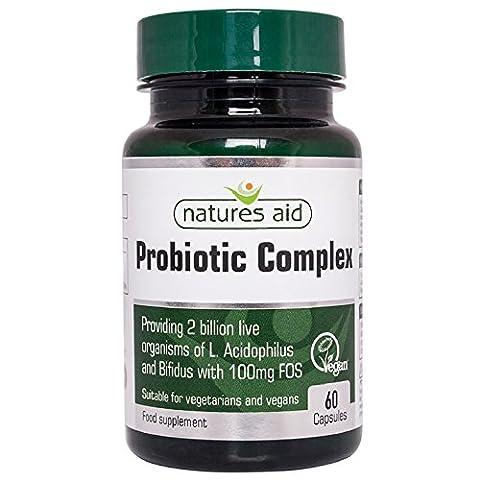 Aide Natures Probiotic Complex 60 Capsules