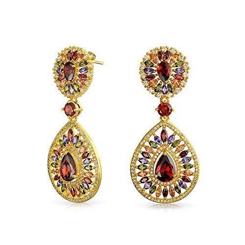 bling-jewelry-rojo-granate-simulado-cz-cuelgue-aretes-candelabro-chapados-en-rodio