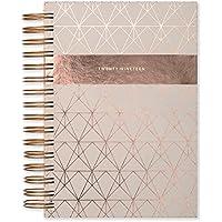 Matilda Myres 2019 - Agenda A5, diseño de Wiro, color oro rosa, color marfil A5