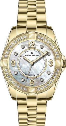 Alpha Saphir Damen-Uhren Quarz  Analog 365E