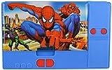 #6: Trolleyhub Premium Quality Jumbo Magnetic Multifunctional Multipurpose Big Size Pencil Box with Sharpener for Kids Girls Boys School (Spiderman)