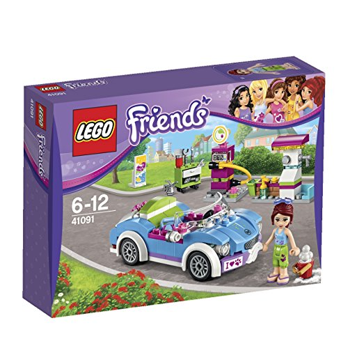 LEGO Friends - 41091 - Jeu De Construction - La Décapotable De Mia