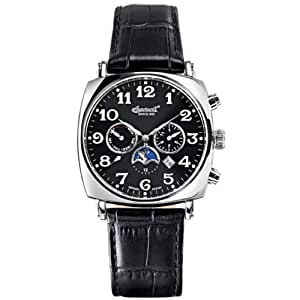 Ingersoll Men's Automatic Watch IN1211BK with Leather Strap