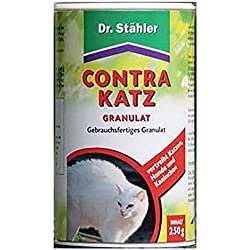 Dr. Stähler 001991 Contra Katz, 250 g Granulat zum Fernhalten von Katzen, Kaninichen und Hunden