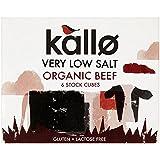 Kallo Organique Très Faible Bœuf Salé Cubes De Bouillon (6X10G)