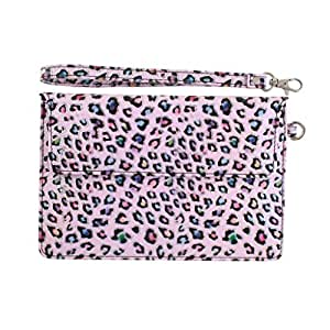 DooDa PU Leather Pouch Case Cover With Magnetic Closure & Video Viewing Stand For iBall 7236 2G