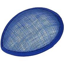 Base Soporte de Sombrero Sombrerería Forma Lágrima Artesanía Azul Real