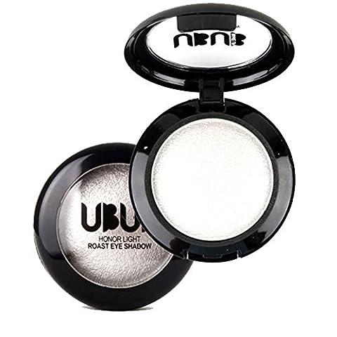 Single Baked glitter Eye Shadow Powder Palette Shimmer Metallic Cosmetic Makeup eyeshadow highlighter 8g (8g,