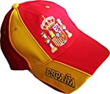 A chacun son Pays Casquette ESPAGNE - Collection supporter Football - ESPANA - Taille r?glable