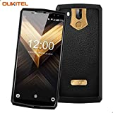 OUKITEL K10 11000mAh Dual Sim Smartphone Ohne Vertrag Android 7.0 Business Handy 6 Zoll(18:9) Octa Core 2.0GHz 6GB RAM 64GB ROM 21MP+8MP Duale Hintere Kamera 13MP+8MP Duale Vordere Kamera Schnellladung Handy mit FACE ID(GOLDEN)
