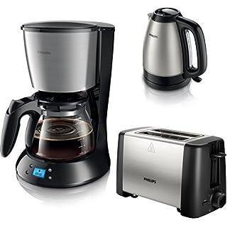 Philips-HD745920-Daily-Filter-Kaffeemaschine-Timer-schwarzmetall
