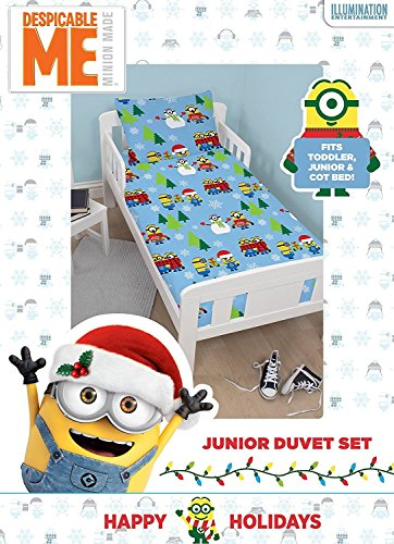 Kids Character Christmas Duvet Cover Bedding Bed Sets – Junior Bed & Single Size