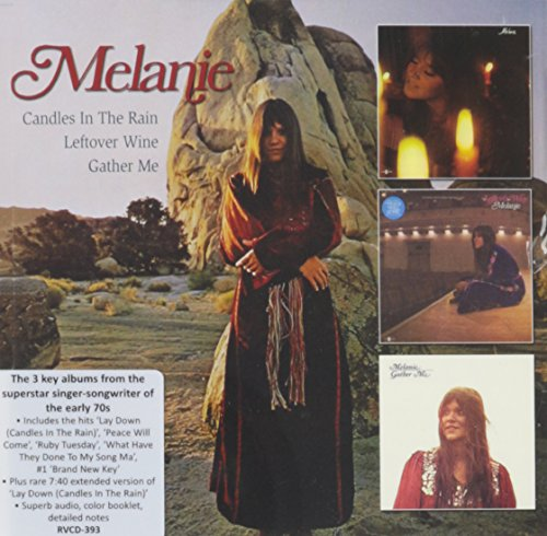 Melanie: Candles in the Rain/Leftover W (Audio CD)