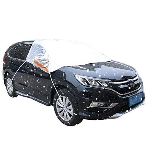 DaoRier Housse Voiture Pare-Soleil pour demi-masque Film d'aluminium scheibenabdeckung été Voiture Pare-Brise Voiture est la plupart des voitures 220*150cm Motif voiture