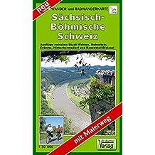 Doktor Barthel Wander- und Radwanderkarten, Sächsisch-Böhmische Schweiz (Schöne Heimat)
