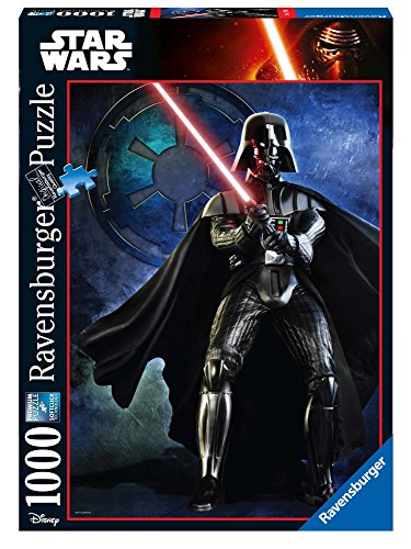Ravensburger Italy- Puzzle Darth Vader Star Wars Collection, 1000 Pezzi, 19679