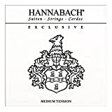 Hannabach Cordes Guitare classique Série Exclusive Medium tension Jeu de 3 Basses