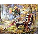DIY 5D Park Bench Diamond Painting Cross-Stitch for Entrance Living Room Bedroom