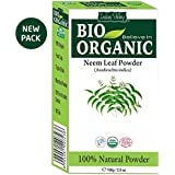 Indus Valley Neem Powder 100% Organic & Chemical Free Hair Cleanser For Healthy Hair (100gm)