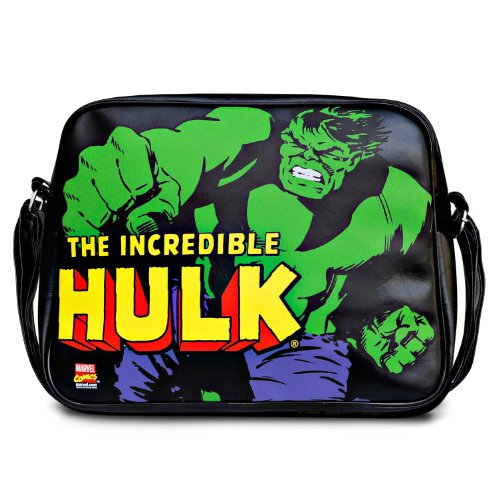 Logoshirt Sac bandoulire MARVEL - INCREDIBLE HULK noir