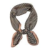Best Vintage Scarves - VLUNT Ladies Vintage Silk Feel Square Scarf Head Review