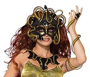Forum Novelties 78916Medusa máscara, Talla única