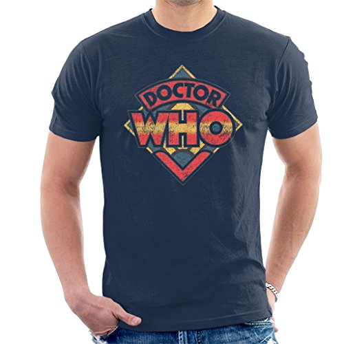 Doctor Who Classic 70s Logo T-shirt - choice of colours