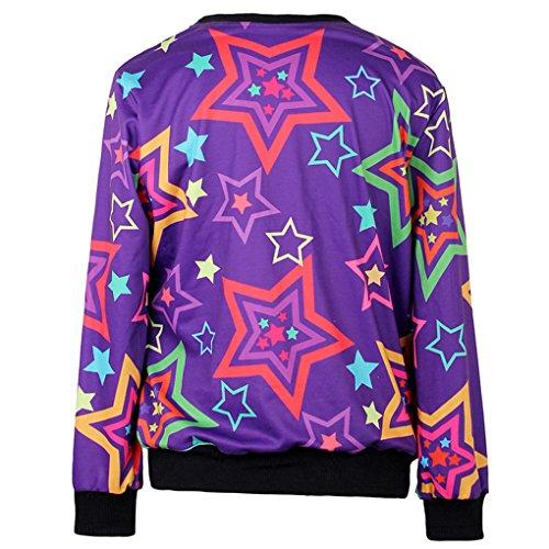 Thenice Damen Sweatshirt, Animalprint One size Adventure