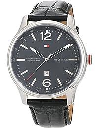 Reloj analógico para hombre Tommy Hilfiger 1710314, mecanismo de cuarzo, diseño clásico, ...
