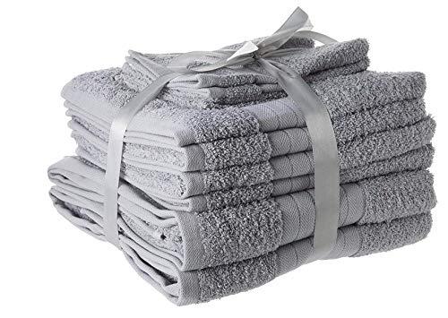 Lo que se siente mejor después de una buena largo remojo en el baño o ducha refrescante que el tacto de un lujo felpa suave toalla envuelta alrededor de usted. Esta toalla Bale Set de regalo se ha creado con la más alta calificación de algodón con un...