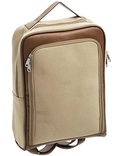 Qualität Leinwand und PVC-Rucksack/Rucksack Laptop Tasche–langlebig und vielseitig (Pvc-laptop-tasche)