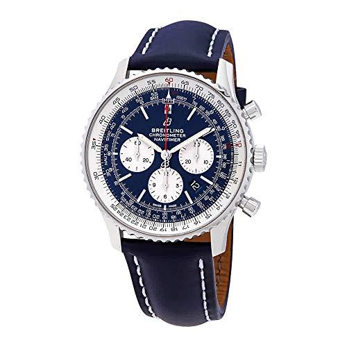 Aurora Blue Breitling Navitimer 1 B01 Cronografo 46 mm orologio AB0127211C1X1