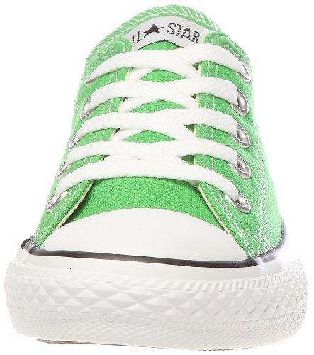 Converse Chuck Taylor All Star Core Ox Scarpe Sportive, Unisex Bambino Verde (Vert Petant)