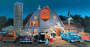 Country Barn Dance 300pc Jigsaw Puzzle by Ken Zylla by SunsOut (English Manual)