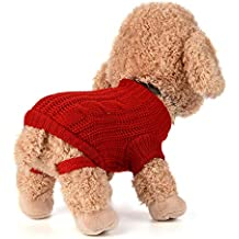 Ropa para Mascotas,Dragon868 Invierno Caliente pequeños Perros Medio Abrigos suéter frío