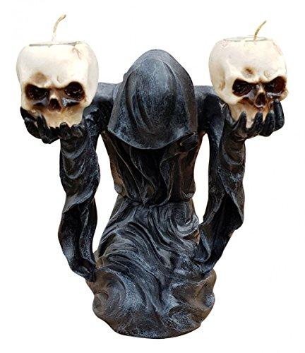 Leucht Schädel Dämon Hänge Schocker Farbwechsel in den Augenhöhlen Halloween