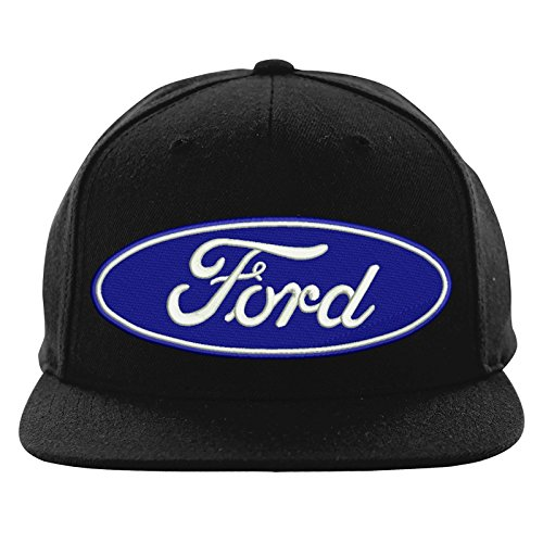 Embroidered Ford Mustang Logo Snapback Cap, Workwear Uniform Ford Mustang Embroidered Snapback Cap