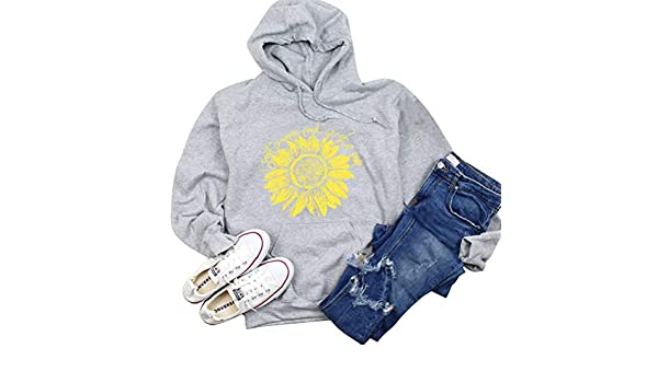 Womens Hoodie Jacket Sun with Sunglasses Casual Pullover Hooded
