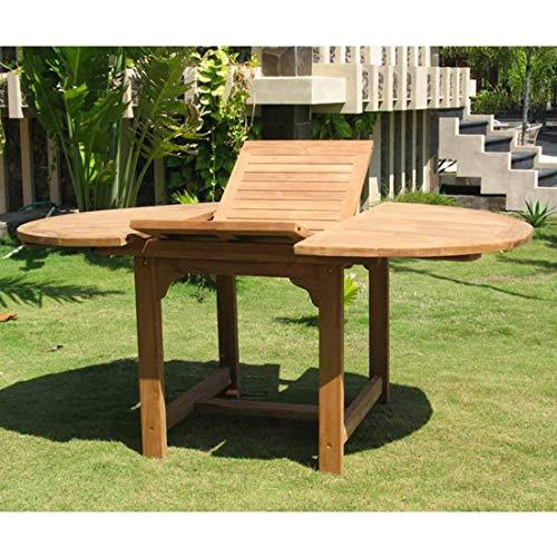 OUTLIV. Gartentisch Dallas Ausziehtisch Ø 120/170 cm Teak Outdoor Tisch