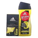adidas Pure Game Eau de Toilette + Duschgel - 1 Pack
