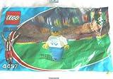 LEGO CITY - SET 4457 - seltene Minifigur TV / Kameramann - Coca Cola Promotion-Set zur Fussball-Weltmeisterschaft 2002 - ungeöffnete Tüte
