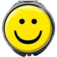 Pillendose/rund/Modell Leony/SMILEY preisvergleich bei billige-tabletten.eu