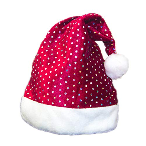 Weihnachtsschmuck Weihnachten Erwachsener Roter Weihnachtshut Plüsch Santa Claus Child Christmas Hat