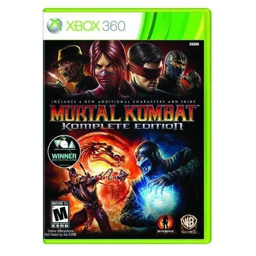NEW Mortal Kombat Komplete X360 (Videogame Software) by Warner Bros.
