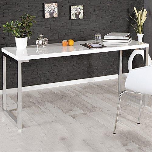 lounge-zone Design Schreibtisch Computertisch Laptop Tisch Arbeitstisch Desk Sekretär Bürotisch...