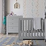 ALFRED & Compagnie Babyzimmer Kinderzimmer Wesentliche Massivholz Grau Beton